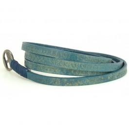 Bracelet Courage Vintage blue