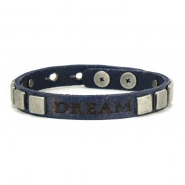 Bracelet Vintage Pyramid Dream navy Good Works Make a Difference