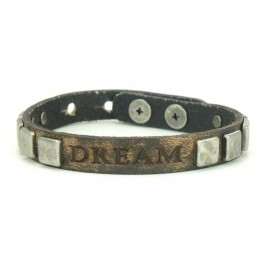 Bracelet Vintage Pyramid Dream coffee