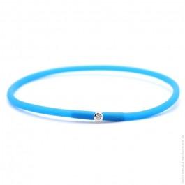 Bracelet My first diamond bleu électrique
