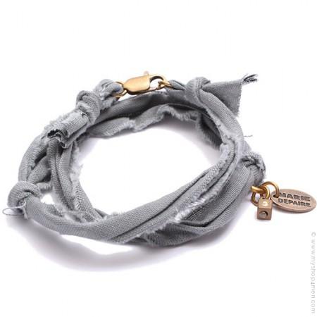 Bracelet vintage gris