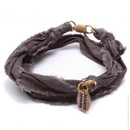 Bracelet vintage anthracite