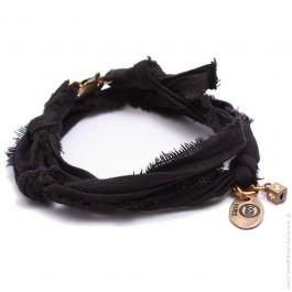 Bracelet vintage noir