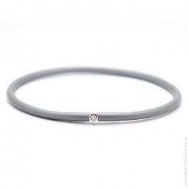 Bracelet My first diamond gris métal