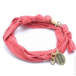 Bracelet vintage corail