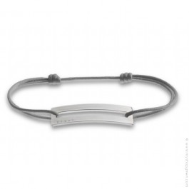 Grey and Silver Slide Bracelet