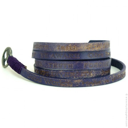 Bracelet Courage Vintage purple