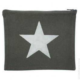 Trousse étoile argent