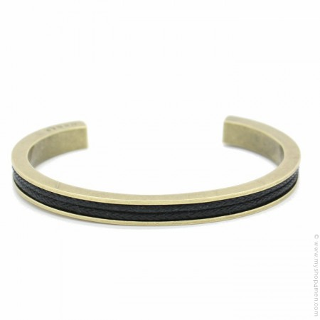 Gold platted brass bangle