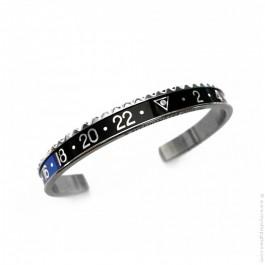 Speedometer Official black and blue bracelet