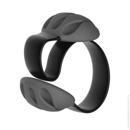 Bloc fil design noir pour bureau