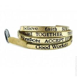 Bracelet Standard Metallic gold Good Work(s)