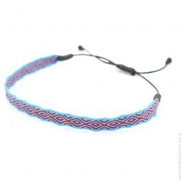 Bracelet Argentinas 120 bleu rouge