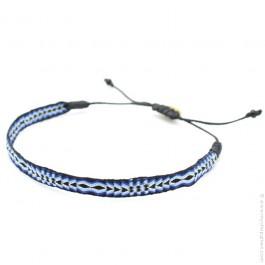 Bracelet Argentinas 120 noir et bleu Guanabana