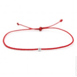 My first diamond red bracelet new edition