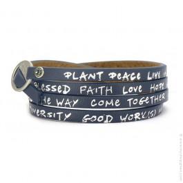 New regular navy bracelet