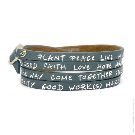New regular teal bracelet