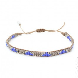 Bracelet native bleu