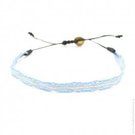 Bracelet Argentinas 120 bleu et beige
