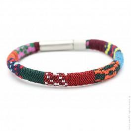 Bracelet tissé Wapi multicolore Elessandro