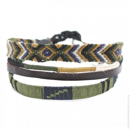 Bracelet Hipanema Paul kaki