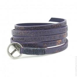 Courage Vintage hot purple bracelet