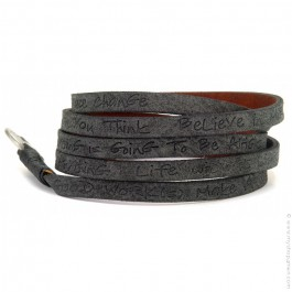 Bracelet around eco black