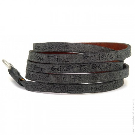 Bracelet around eco black