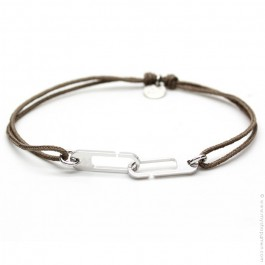 Bracelet Osmose taupe