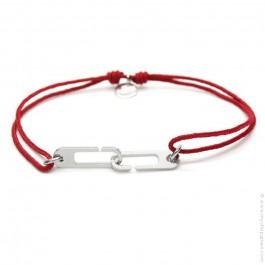 Bracelet Osmose rouge