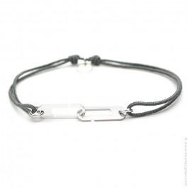 Bracelet Osmose gris