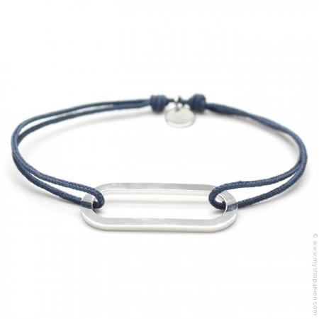 Bracelet argent Figaro jean