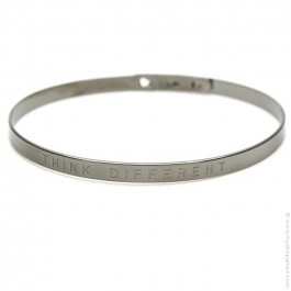 Bracelet Think Different gunmetal