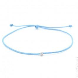 My first diamond sky blue bracelet new edition