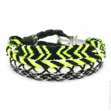 Bracelet Hipanema Tom black