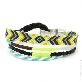 Bracelet Hipanema Leo yellow