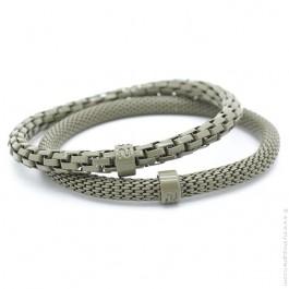 Army matte Mr Snake bracelets