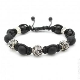 Bracelet Shamballa Ancre
