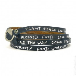 New regular navy bracelet