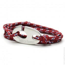 Burgundy Brummel Hook bracelet