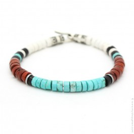 Turquoise and Native bracelet