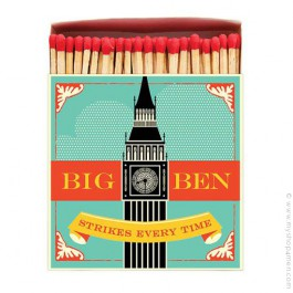 Big Ben luxury matchbox