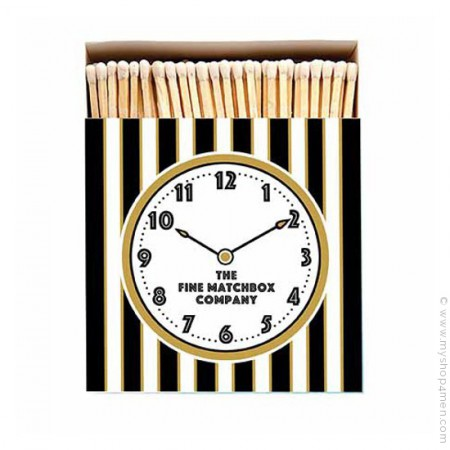 Allumettes de luxe Horloge
