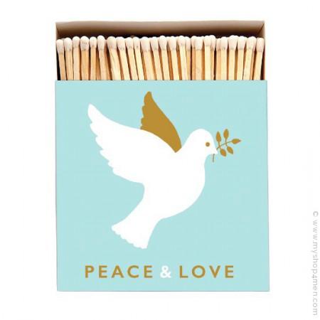 Allumettes de luxe Peace and Love