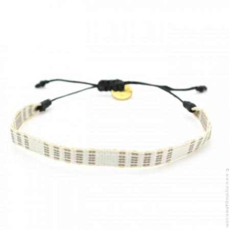 Bracelet Argentinas 120 beige écru