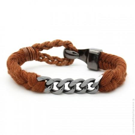 Rust Done Hipanema bracelet for men