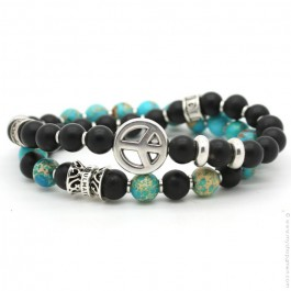 Bracelet Soul Mate Black Sea
