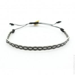Bracelet Argentinas 120 noir et marine