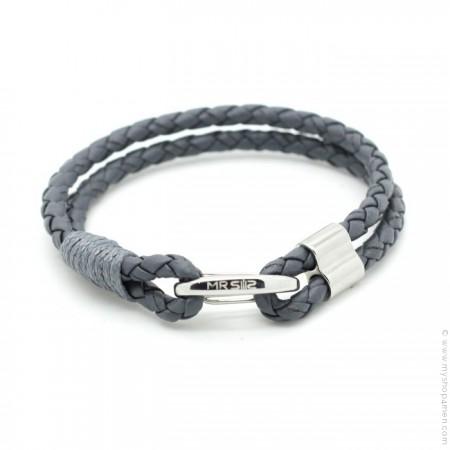 Bracelet Mr Clasp grey