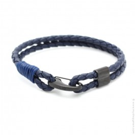 Bracelet Mr Clasp blue